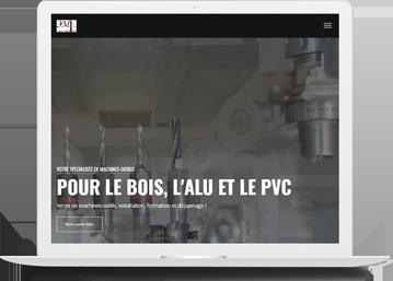 3M maison machine menuiserie - Agence de communication Toulouse