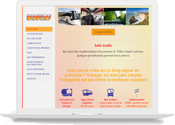 Lieures Transport-réalisation agence de communication Celicomm
